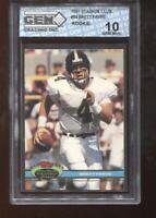 Brett Favre RC 1991 Stadium Club #94 Packers Rookie HOF GEM MINT 10
