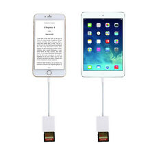 Lightning to SD Card Reader Adapter for iPhone 5/5S/6/6S/6Plus/7/7Plus/iPad Mini