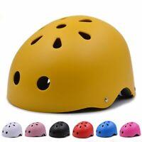 Adjustable Helmet Kids Adults Bike Cycling Skating Impact Resistance Protection