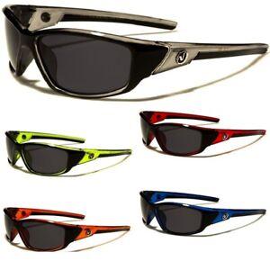 Nitrogen Men's Polarized Sunglasses Lightweight Wrap Around Frame Polarised Lens
