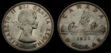 1954 Canada Silver Dollar Queen Elizabeth II EF-45