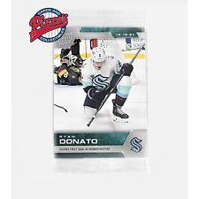 Ryan Donato 1st Goal in Kraken History 2021-22 NHL TOPPS NOW Sticker #3 Presale