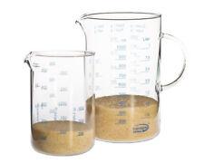 Messbecher Set 1,0l und 0,5l Glas Trendglas Jena hitzebeständig für Mikrowelle