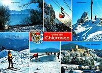 Grüße vom Chiemsee , Ansichtskarte gelaufen
