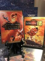 The Lion King DVD Platinum Edition 2 Disc Set Great Condition And Lion King 11/2