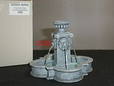 KING AND COUNTRY SP80 FOUR LIONS MAIN SQUARE TOWN GREYSTONE WATER FOUNTAIN