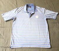 Men's Nike Dri-Fit 100% Polyester Short Sleeved Black Polo Golf Shirt Small