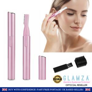 Electric Eyebrow Trimmer Shaver Razor Facial Hair Remover Shaper Ladies Women
