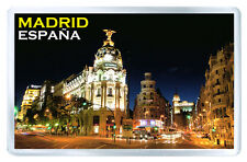 MADRID SPAIN MOD4 FRIDGE MAGNET SOUVENIR IMAN NEVERA