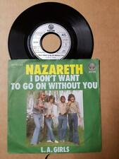 """Nazareth-I Don't Want To Go On Without You-Vinyl,7"""",45 RPM,Single-Rock-Sammlung"""