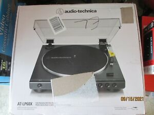 New ListingAudio-Technica At-Lp60Xbt Turntable - Black