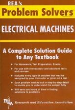 Electrical Machines Problem Solver (Problem Solvers Solution Guides)