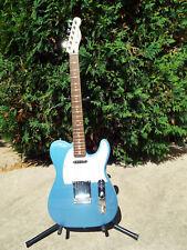 Fender Squier FSR Telecaster Lake Placid Blue with Upgrades Nashville Routed