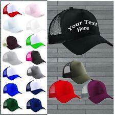 New Personalised Custom Print Any Text Snapback Trucker Baseball Rapper Cap Gift