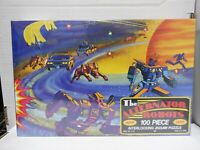 Jaymar The Alternator Robots Ring of Saturn 100 Piece Jigsaw Puzzle 011421MGL7