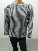 Maglione WRANGLER Uomo Sweater Man Pull Homme Taglia Size L Cotone 8303