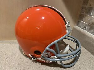 Cleveland Browns NFL Authentic Riddell Full Size Helmet New In Box