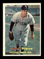 1957 Topps #160 Billy Pierce  EXMT X1609848