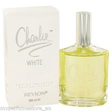 CHARLIE WHITE 100ml EAU DE TOILETTE SPRAY FOR WOMEN BY REVLON -- NEW EDT PERFUME