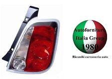 FANALE FANALINO STOP POSTERIORE DESTRO DX B/BIANCO FIAT 500 07>15 2007>2015