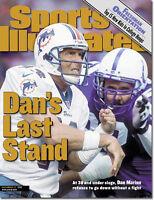December 13, 1999 Dan Marino Miami Dolphins SPORTS ILLUSTRATED NO LABEL A
