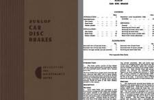 Jaguar 1958 - Dunlop Car Disc Brakes Descriptive and Maintenance Notes 1958 (Ser