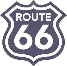 "Route 66 Sign Bumper Sticker Decal 5"" x 5"""