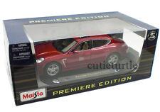 Maisto Porsche Panamera Turbo 1:18 Diecast Burgundy 36197