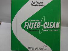 Schwartz Tuffy Milk Filters - 6.5 inch (100)
