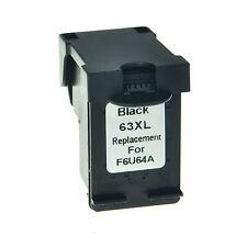 1PK Black Ink Cartridge Compatible for HP 63XL Deskjet 2132 2131 2130 1112 1110