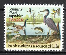 USA - 1984 World exhibition Louisiana / Birds / Fish - Mi. 1694 MNH