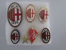 j13 stock 6 pins lot MILAN FC club brooch football broches