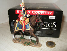 King & Country Napoleonic Dutch Lancer Officer Walking NA163