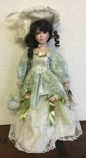 16in Porcelain Doll Cathay Collection Lisa Victorian - Collectible - Vintage