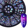 3D Bijoux Ongle Déco Glitter Strass Cristal Fimo Gel UV Tips Caviar Nail Art DIY