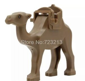 NEW Brown Camel Custom MiniFigure Persia Prince Compatible FitLEGO Bigfig Animal