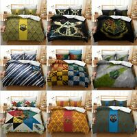 Harry Potter Collection Single/Double/Queen/King Bed Quilt Cover Set #2