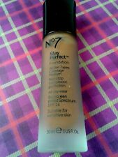 No 7 Stay Perfect Foundation Chestnut Medium Coverage SPF15 Sensitive Skin