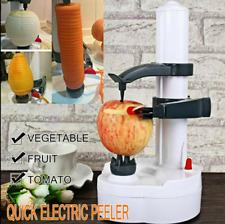 NEUF électrique acier Epluche pomme de terre Fruit éplucheur légumes peau outil