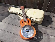 More details for gretsch g9112 concert resonator ukulele - unused - with bag