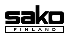 SAKO LOGO  Sticker/Decal  Shotgun/Firearm/Hunting/Shooting