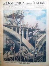 La Domenica degli Italiani o del Corriere 26 Agosto 1945 WW2 Atomica Bomba Aerei