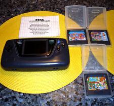 SEGA Game Gear Konsole Modell 2110-50 Made in Japan 3 Spiele
