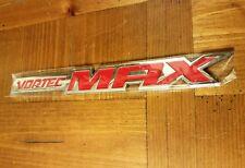 Chevy Silverado Vortec MAX High Emblem - red and chrome