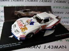 24H14M Coche 1/43 IXO 24 Horas Le Mans: Chevrolet Corvette 1976