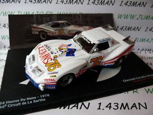 24H14 voiture 1/43 IXO 24 Heures Le Mans : CHEVROLET Corvette 1976