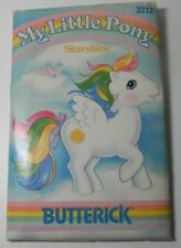 Butterick My Little Pony Starshine Toy Sewing Pattern 3212 Uncut