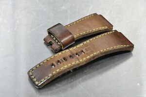 Bell & Ross Watch Strap 24mm Handmade Leather
