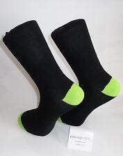 Calcetines De Color Negro Con Fluorescente Verde sanar y dedos.