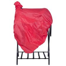 Tough-1 Red Nylon Western Saddle Cover W/ Tote/ Fender Protection Horse Tack